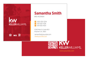 Keller Willimas business card