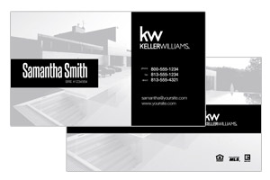 Keller Willimas custom design business cards