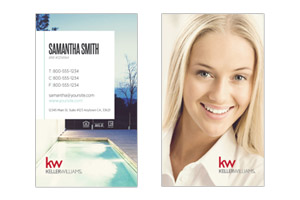 Realtor business cards for Keller Williams agents