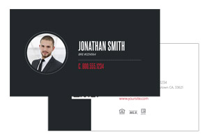 Business card design and print Keller Williams agents
