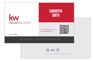 Design and print for Keller Williams real estate agents