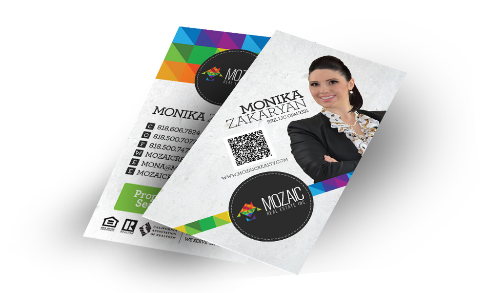 Moziac Business Cards